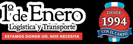 1º de Enero – Logística y Transporte de Hacienda y Cargas Generales – Jaulas Doble Piso y Simples – Nacional e Internacional